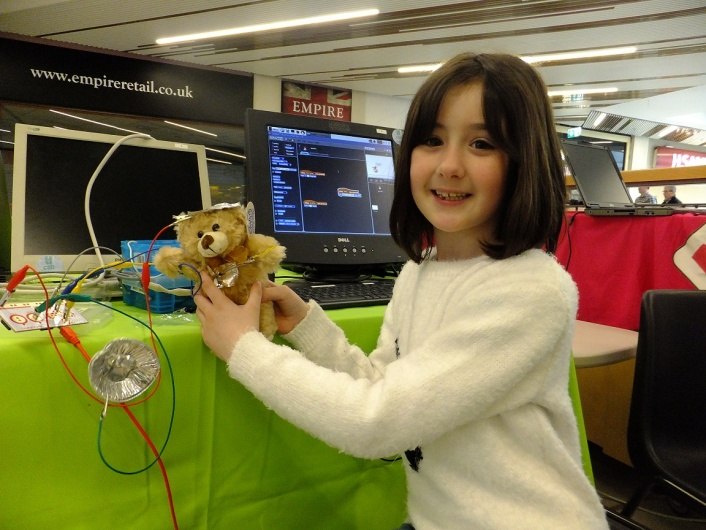 Teddy Bear Games Controller... Genius Invention!